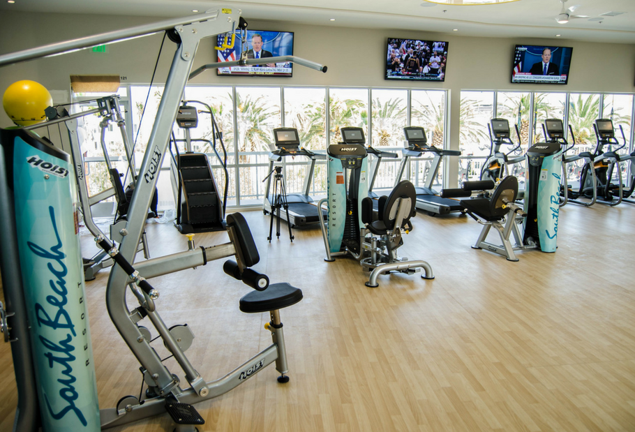 matrix and hoist fitness in fitness center