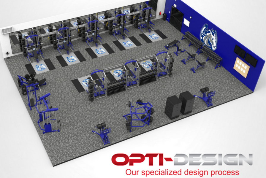 Pioneer high school athletic training facility for Athletic training facility design
