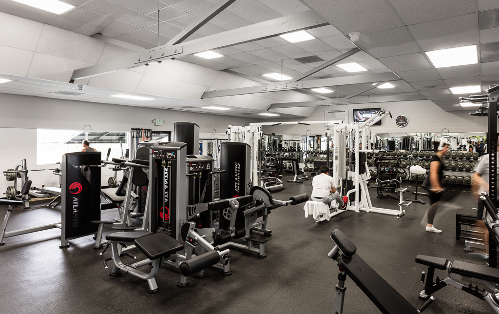 gym equipment in california